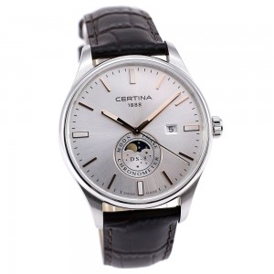 Certina DS-8 C033.457.16.031.00 Moonphase COSC Precidrive
