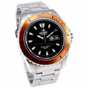 Orient FEM75004B9 Orange Big Mako XL